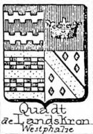Quadt Coat of Arms / Family Crest 6