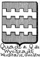 Quadt Coat of Arms / Family Crest 4