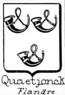 Quaetjonck Coat of Arms / Family Crest 0