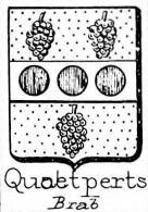 Quaetperts Coat of Arms / Family Crest 0