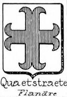 Quaetstraete Coat of Arms / Family Crest 0
