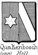 Quakenbosch Coat of Arms / Family Crest 0