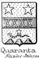 Quaranta Coat of Arms / Family Crest 4