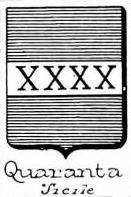 Quaranta Coat of Arms / Family Crest 5