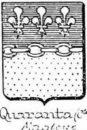Quaranta Coat of Arms / Family Crest 3