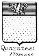 Quaratesi Coat of Arms / Family Crest 1