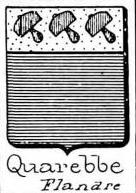 Quarebbe Coat of Arms / Family Crest 0