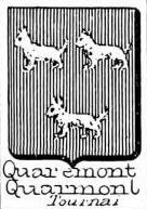 Quaremont Coat of Arms / Family Crest 0