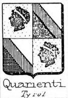 Quarienti Coat of Arms / Family Crest 0