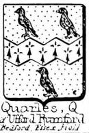 Quarles Coat of Arms / Family Crest 1