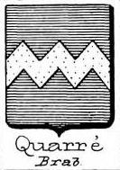 Quarre Coat of Arms / Family Crest 1
