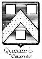 Quarre Coat of Arms / Family Crest 2