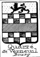 Quarre Coat of Arms / Family Crest 4