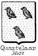 Quartelaar Coat of Arms / Family Crest 0