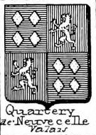 Quartery Coat of Arms / Family Crest 1
