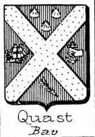 Quast Coat of Arms / Family Crest 10