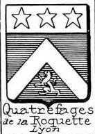 Quatrefages Coat of Arms / Family Crest 0
