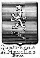 Quatresols Coat of Arms / Family Crest 0