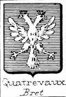 Quatrevaux Coat of Arms / Family Crest 0