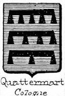 Quattermart Coat of Arms / Family Crest 0