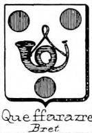 Queffarazre Coat of Arms / Family Crest 0