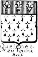 Quelenec Coat of Arms / Family Crest 1