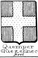 Quemper Coat of Arms / Family Crest 1