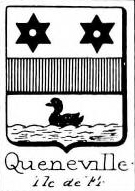 Queneville Coat of Arms / Family Crest 0