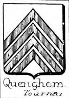 Quenghem Coat of Arms / Family Crest 0