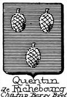 Quentin Coat of Arms / Family Crest 1