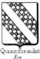 Querforadat Coat of Arms / Family Crest 0