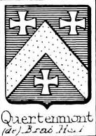 Quertenmont Coat of Arms / Family Crest 0