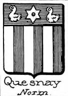 Quesnay Coat of Arms / Family Crest 0