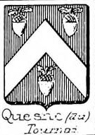 Quesne Coat of Arms / Family Crest 1