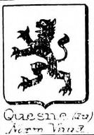 Quesne Coat of Arms / Family Crest 2