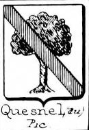 Quesnel Coat of Arms / Family Crest 1