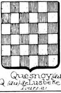 Quesnoy Coat of Arms / Family Crest 1