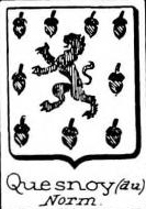 Quesnoy Coat of Arms / Family Crest 4