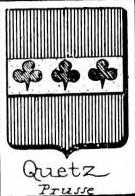 Quetz Coat of Arms / Family Crest 1