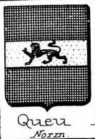 Queu Coat of Arms / Family Crest 0