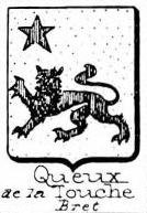 Queux Coat of Arms / Family Crest 1
