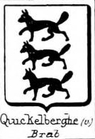 Quickelberghe Coat of Arms / Family Crest 0