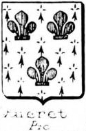 Quieret Coat of Arms / Family Crest 0