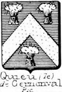 Quieu Coat of Arms / Family Crest 1