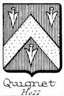 Quignet Coat of Arms / Family Crest 0