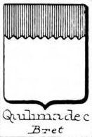Quilimadec Coat of Arms / Family Crest 0