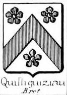 Quilliguiziau Coat of Arms / Family Crest 0