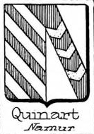 Quinart Coat of Arms / Family Crest 0