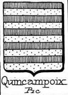 Quincampoix Coat of Arms / Family Crest 0