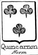 Quincarnon Coat of Arms / Family Crest 0